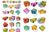 Free vector Vector misc  a variety of exquisite gift box vector