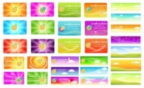 Free vector Vector background  a variety of fantasystyle background vector 2