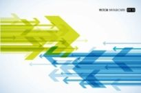 Free vector Vector background  Abstract arrow vector background