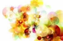 Free vector Vector abstract  Abstract Autumn Sunshine Vector Background