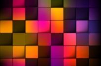 Free vector Vector abstract  Abstract Background with Colorful Squares