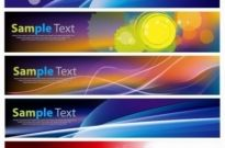 Free vector Vector banner  Abstract Banner Set