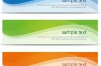 Free vector Vector banner  Abstract Banners Set Vector Illustration