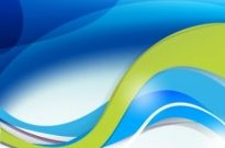 Free vector Vector background  Abstract blue/green background