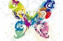Free vector Vector abstract  Abstract Butterfly Vector Graphic