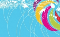 Free vector Vector abstract  Abstract Colored Background Vector Illustration