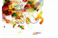 Free vector Vector background  Abstract colorful background