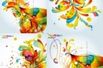 Free vector Vector abstract  abstract colorful fashion pattern vector