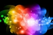 Free vector Vector abstract  Abstract Colorful Glowing Background Vector Graphic