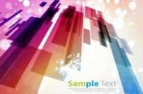 Free vector Vector abstract  Abstract Design with Bokeh Light Background Vector