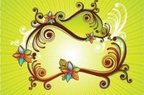 Free vector Vector floral  Abstract Floral Vector Spring Illustration