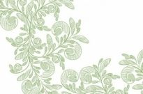 Free vector Vector abstract  Abstract Floral with Green Pencil Vector Graphic