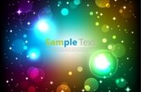 Free vector Vector abstract  Abstract Glowing Colorful Background Vector Art