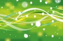 Free vector Vector abstract  Abstract Green Nature Line with Stars Vector Background