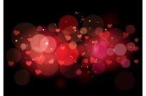 Free vector Vector Heart  Abstract heart background