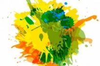 Free vector Vector abstract  Abstract Ink Splash Background Vector Graphic