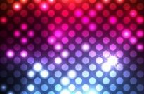Free vector Vector abstract  Abstract Light Dots Background Vector Graphic