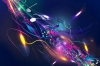 Free vector Vector abstract  Abstract Music Design Background Vector Illustration