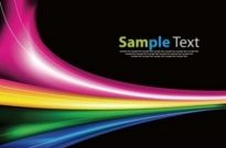 Free vector Vector abstract  Abstract Rainbow Background Vector Garphic