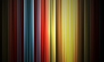 Free vector Vector abstract  Abstract Rainbow Colors on Black Background Vector Graphic