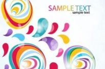 Free vector Vector abstract  Abstract Vector Colorful Background