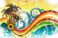 Free vector Vector abstract  Abstract Wave Vector Illustration