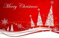 Free vector Vector abstract  Abstract Xmas Background Vector Illustration