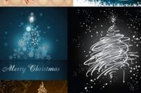 All kinds of christmas tree vector Free vector 5.36MB