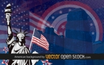 Free vector Vector background  American background