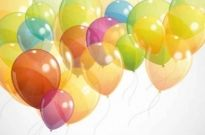 Free vector Vector background  Balloons Background