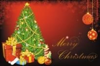 Free vector Vector background  beautiful christmas background 01 vector