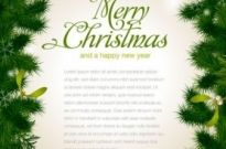 Free vector Vector background  beautiful christmas background borders 01 vector