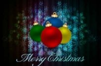 Free vector Vector background  Beautiful Christmas Ball background