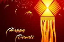 Free vector Vector misc  beautiful diwali cards 02 vector