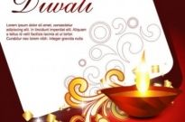 Free vector Vector misc  beautiful diwali cards 06 vector