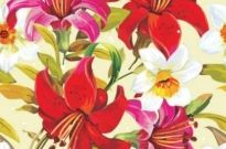 Free vector Vector background  Beautiful floral flowers background