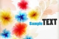 Free vector Vector background  Beautiful flower vector background