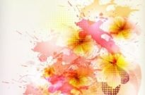Free vector Vector flower  beautiful flowers background 01 vector
