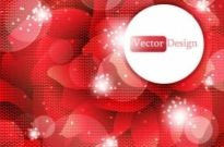 Free vector Vector background  Beautiful grid red background