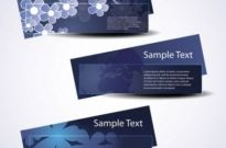 Free vector Vector banner  beautiful pattern banner 01 vector