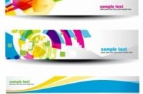 Free vector Vector banner  beautiful pattern banner 07 vector
