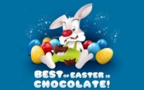 Free vector Vector misc  Best of Easter is Chocolate