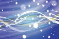 Free vector Vector background  Blue Night Sky Vector Background