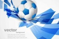 Free vector Vector background  blue sport vector background