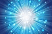 Free vector Vector misc  Blue Star Burst Background