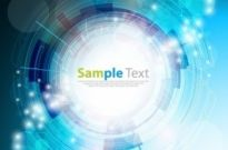 Free vector Vector background  Blue Tech Background Vector Graphic