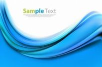 Free vector Vector misc  Blue Wave Business Template Vector Illustration