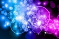 Free vector Vector background  Bokeh Circles Abstract Background