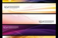 Free vector Vector banner  brilliant dynamic banner 01 vector
