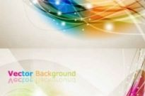 Free vector Vector background  brilliant dynamic effects background